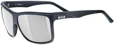 Uvex - Gafas de sol - para hombre Negro negro