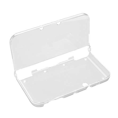 Leoboone Lightweight Rigid Plastic Clear Crystal Hartschalen-Schutzhülle für Nintendo New 3DS XL Console & Games