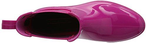 Tommy Hilfiger O1285dette 7r, Bottes de Pluie Femme Rose (Very Berry 501)