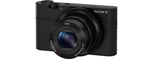 Sony RX100 Premium Kompakt Digitalkamera (20 MP, 7,6 cm (3 Zoll) Display, 1 Zoll Sensor, 28-100 mm F1.8-4.9 Zeiss Objektiv, 3,6x opt. Zoom) (DSC-RX100) schwarz