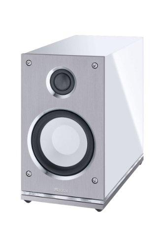 Magnat Quantum Edelstein High-End-Kompaktlautsprecher 2-Wege-Bassreflex 150 Watt Maximal Leistung, weiß -