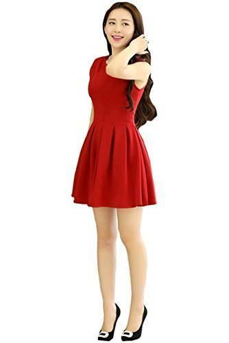 Rudraksh Fashion Women\'s One piece (red_Free_Size)