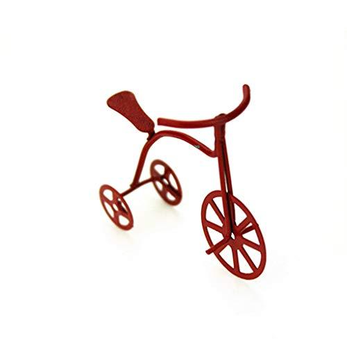 ToDIDAF Puppenhaus-Zubehör, Süßes Puppenhaus Mini Baby Auto, 1:12 Mini Puppenhaus Miniatur Möbel, Lernspielzeug für Kinder, 52 x 16 x 41 mm