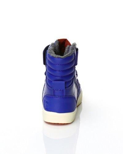 hummel HUMMEL STADIL SUPER JR LEA HG 63-488-0534 Unisex-Kinder Sneaker Surf the Web Blue