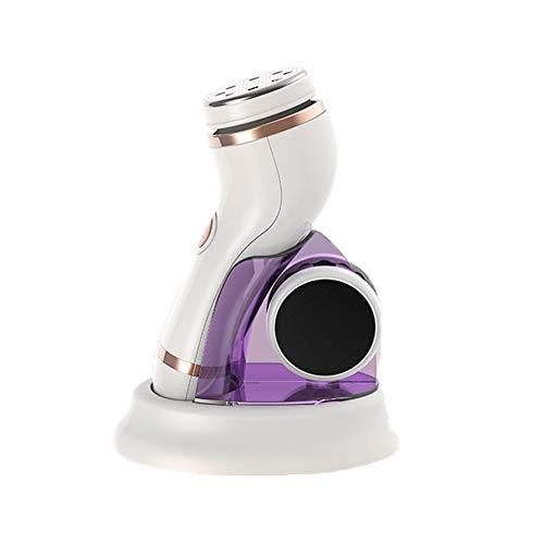 WYPG Pediküre-Entferner für harte Haut, wasserdichte USB-Lade-Pediküre-Sehne zum Entfernen der Fußpflege am Knöchel, mit 4 Rollenköpfen -