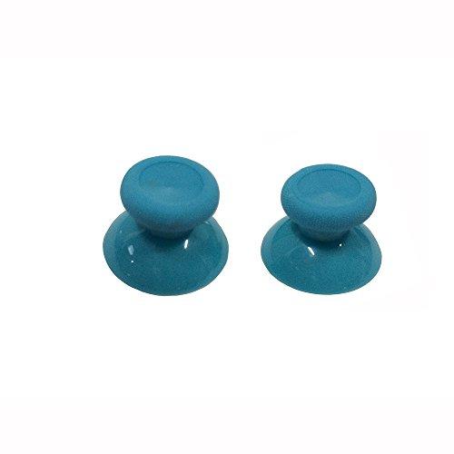 Ostent 6 x cappuccio analogico colorato sostitutivo compatibile per controller microsoft xbox one - colore azzurro
