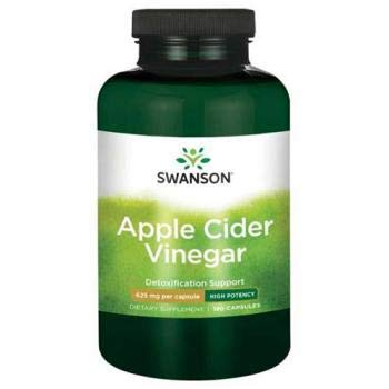 High Potency Apple Cider Vinegar 625 mg 180 Caps by Swanson Ultra