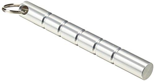DEPICE w-ksi - Kubotan de entrenamiento (punta plana), color plata