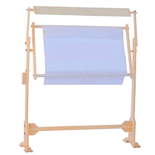 - Holz Kreuzstich Rack Stickrahmen Set Einstellbar Nähen Holzständer Kreuzstich Werkzeug Kit von Selbst montiert