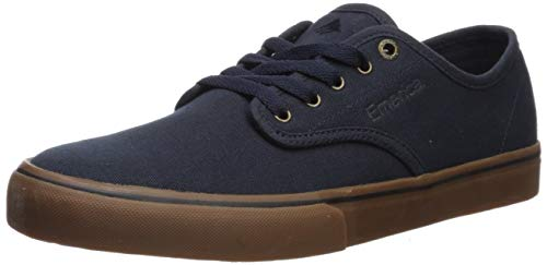 Emerica Herren Wino Standard Skate-Schuh, Marineblau/Gum/Gold, 10,5 M US
