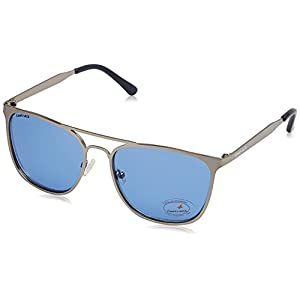 Fastrack UV Protected Square Men's Sunglasses - (M149BU2|50|Solid Blue Color)