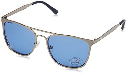 Fastrack UV Protected Square Men's Sunglasses - (M149BU2|50|Solid Blue Color)