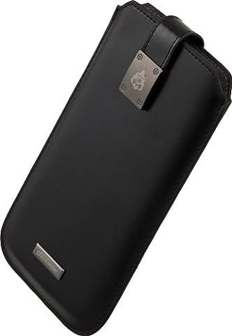 Commander Milano 13238Étui en cuir pour Samsung N7100Galaxy Note 2Noir Taille XXXL