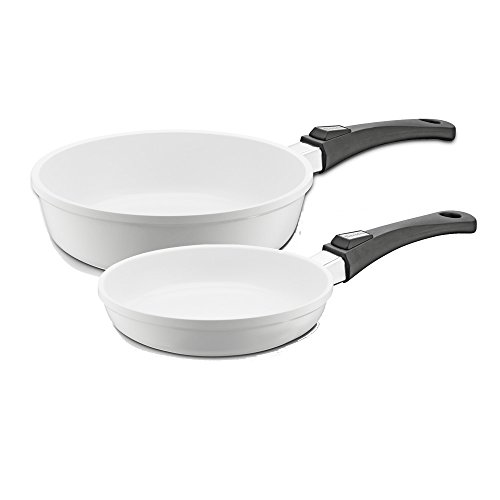 Set Vario Click Induction White Schmorpfanne 28+24 cm Pfanne Berndes