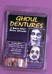 Costumes For All Occasions Big Bubba Ghoul Teeth Halloween Fancy Dress