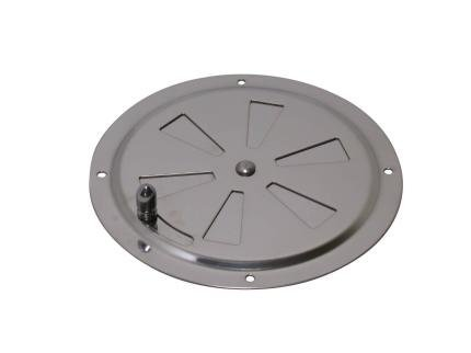 AISI 316 Marine Grade Stainless Steel Butterfly Boat Round Louvered Vent 125mm Test