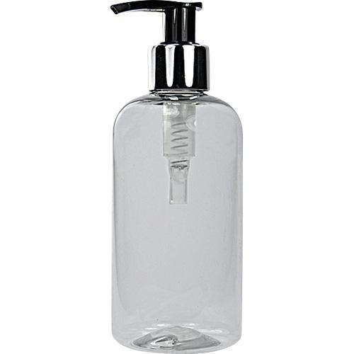 Preisvergleich Produktbild 2 X 250ML Klar HAUSTIER Plastik Flaschen mit Pumpe Dispenser
