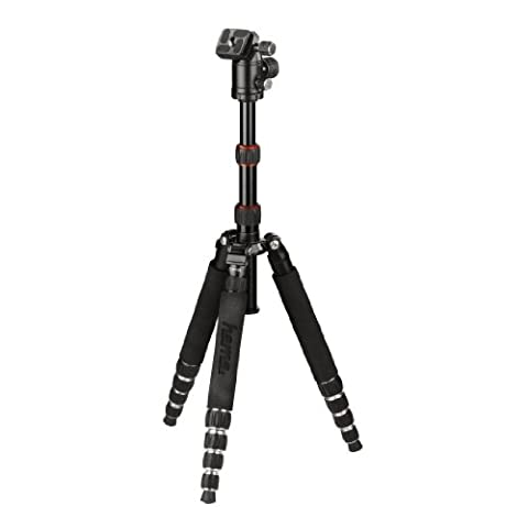 HAMA Taveller 146 Premium Duo Tripod With Carry Case. Easy Monopod Configuration. 2 Quick Release Plates As Options For Speedy Changeover. Reliable German Quality Control. Compact Leg Fold To 34cm Aluminium Lightweight DSLR Camera Tripod And Video Tripod. Easy Release Central Column Can Be Used As A Fully Functioning Monopod, Flexible 3D Head With Panorama Function. Sturdy And Stable Tripod With Multi Option Configuration For Great Shots In Everyday Use and The Active Outdoors, Camping, Hiking and Travelling. Easy Spirit Level For The Perfect Shot. Portable Size With Case. Range 34-146CM / 14-57''. Weight 1210gm / 2.7lbs. 2 Year Warranty. Ample Loading Options to 3KG