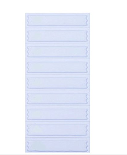5,000 Signatronic AM Labels in Plain White, Compatible with Sensormatic  Systems