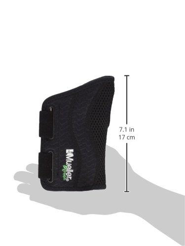 Mueller Green Line Handgelenkbandage, schwarz, links, S/M - 6