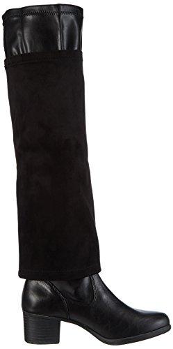 Marco Tozzi25542 - Stivali Donna Nero (Noir (black Ant.comb 096))