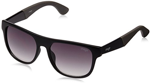 Image Wayfarer Sunglasses (Black) (S432-C5) Size 54  available at amazon for Rs.1500