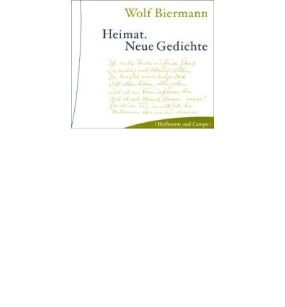 Heimat. CD: Neue Gedichte (CD-Audio)(German) - Common