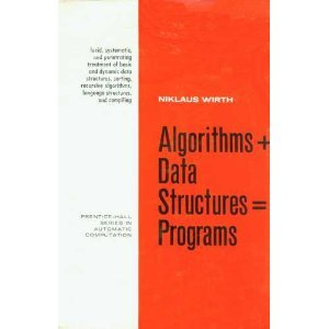 Algorithms Plus Data Structures Equals Programs (Prentice-Hall series in automatic computation) por Niklaus Wirth