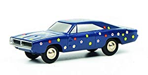 Schuco 450570900 Piccolo Charger Happy Birthday 2019 450570900-Piccolo - Maqueta de Coche, Color Azul Oscuro