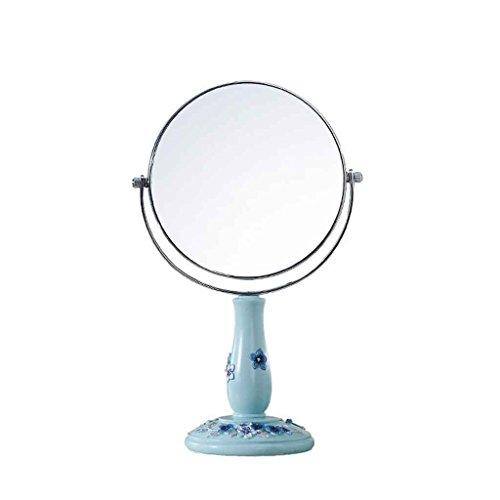 Miroirs Coiffeuse De Maquillage Creative Double Face De Beauté Grossissement Princesse Vanity Haute Définition Exquis Et Belle 360 degrés Rotation 5/6/7/8 Pouces