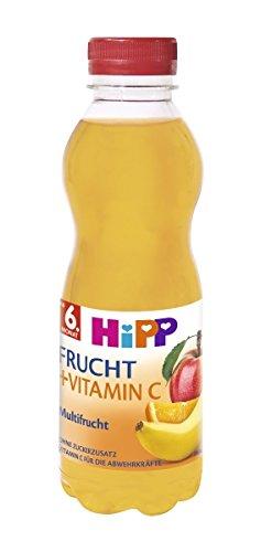 HiPP Multifrucht mit Vitamin C, 6er Pack (6 x 500 ml)