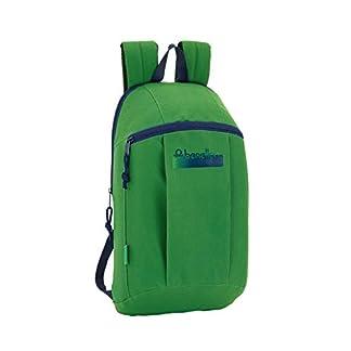Safta –Benetton UCB Green Oficial Mini Mochila Uso Diario 220x100x390mm