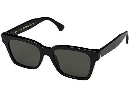 Sunglasses Super by Retrosuperfuture America Black 5W5 Regular R 52 18 145 NEW