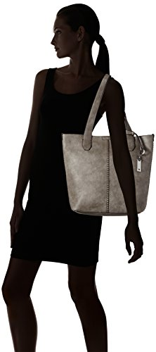 Tom Tailor - Sally, Borsa a spalla Donna grigio (grigio)