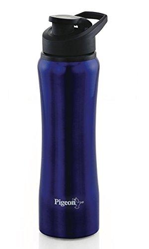 Pigeon Aqua Stainless Steel Water Bottle (900ml ,Multicolor)
