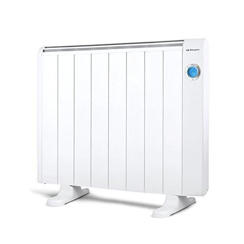 Orbegozo RRE 1510 - Emisor térmico bajo consumo, 1500 W de potencia, 8 elementos de calor, pantalla digital LCD, mando a distancia y funcionamiento programable