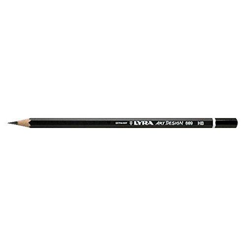 Bleistift LYRA ART Design 178x7mm F PG/12ST