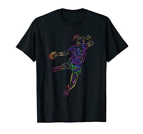Handball T-Shirt Handballerin Handballspielerin Geschenk