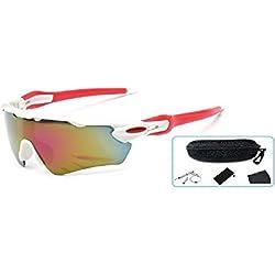 Embryform Unisex Polarized Gafas de Sol Deportivas para el Ciclismo, el béisbol