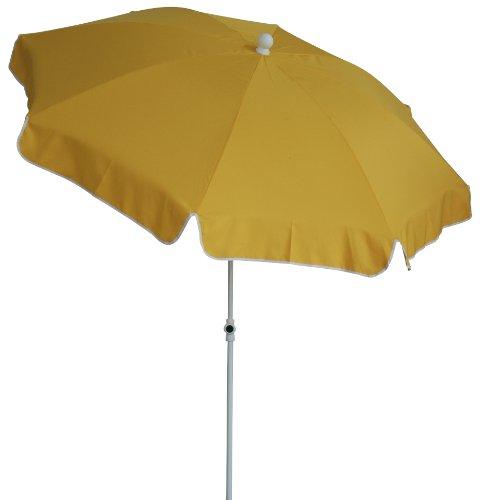Price comparison product image Zangenberg Vienna 64831_802 Parasol Round 8-Part 200 cm Yellow