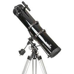 Sky-Watcher Newton Télescope 114/900 à Monture équatoriale EQ1 Noir
