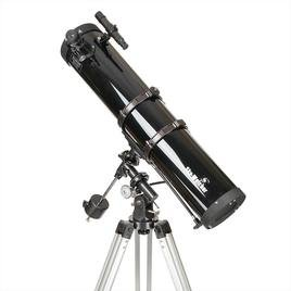 sky-watcher newton telescopio 114/900, montatura equatoriale eq1, nero