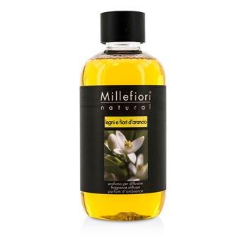 Millefiori Natural Ricarica per diffusore di fragranza per ambienti 250ml fragranza Legni & Fiori d'Arancio