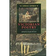 The Cambridge Companion to Victorian Poetry (Cambridge Companions to Literature)