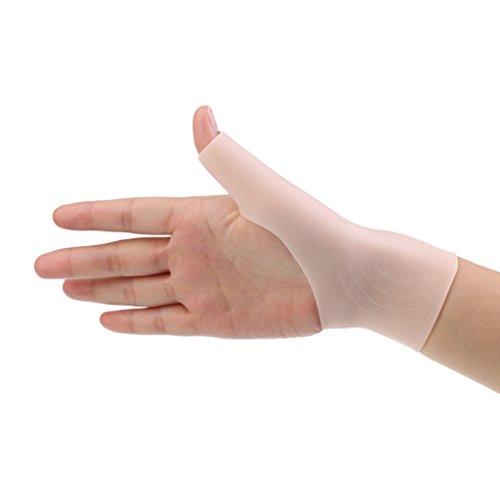 Sharplace Daumenbandage, Daumenstütze, Handbandage weich Silikon Gel Daumenschutz, 1 Paar