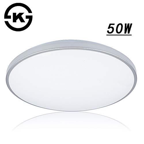 VGO 50W LED Plafonnier étoilé Ciel Salon Lampe Froide Blanc Cuisine Lumière Plafond éclairage Panneau Lustre Ciel étoilé Ultraslim Chambre Salle à Manger économie d'énergie
