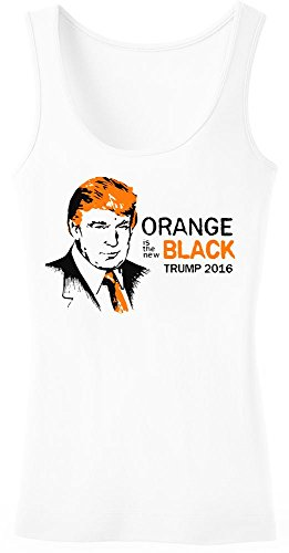 Trump 2016 Orange Is The New Black Women's Tank Top Shirt Extra Large