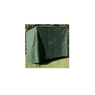 Schutzhülle / Abdeckhaube für Hollywoodschaukel 150 x 150 x 150 cm (2-Sitzer) aus grünem Polyäthylengewebe