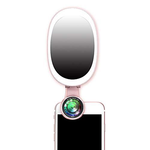 MEILA Fill Light, Externes High-Definition-Weitwinkel-Objektiv für Mobiltelefone Universal SLR-Makro Schönheit Zarte Haut Dünnes Gesicht Selbstfotografierender Kopf Kleines Licht Videokamera-Artefakt