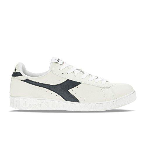 diadora-game-l-low-waxed-sneaker-bas-du-cou-mixte-adulte-blanc-cass-bianco-blu-mar-caspio-48-eu